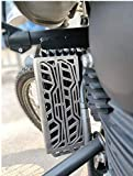 Radiator Guard Protector Grill Only Fit In bullet Himalayan Made Havy deuty Stainless Steel II No Instruction Included, Professional Installation Recommended Real item May Vary in colour and size, owing to different Screen Resolution and Camera effec...