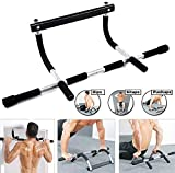 WYNC Iron Gym Pull Up Sit Up Door Bar Portable Chin-Up for Upper Body Workout Doorway
