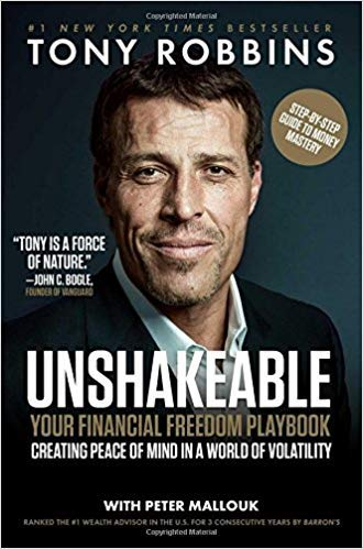 [By Tony Robbins ] Unshakeable: Your Financial Freedom Playbook (Hardcover)【2018】by Tony Robbins (Author) (Hardcover)