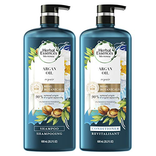 Herbal Essences, Repairing Argan Oil Of Morocco Shampoo and Conditioner set With Natural Source...