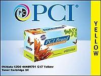 Premium Compatibles OKIC330Y-PCI PCI Okidata C330 MC361 44469701 Type C17 3K Yellow Toner Cartridge by PREMIUM COMPATIBLES INC.