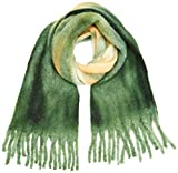 Only Onlsara Heavy Brushed Scarf Bufanda, Verde (Forest Biome Forest Biome), Talla Única para Mujer