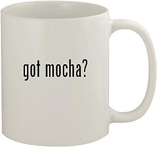 got mocha? - 11oz Ceramic White Coffee Mug, White