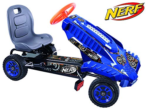 Hauck Nerf Striker Go Kart Ride On, Azul y Naranja