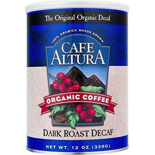 Cafe Altura Organic Decaf Dark Roast