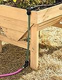 Raised Bed Garden Watering, Snip-n-Drip Soaker System