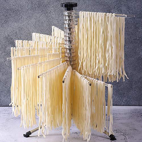 Nudeltrockner für frische Pasta, kompakt für einfache Lagerung, sicherer Stand, Nudeltrockner, Küchenwerkzeug