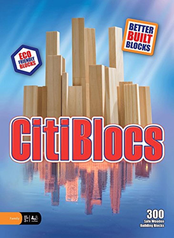 tienda de bajo costo CitiBlocs 300-Piece Natural-Colorojo Natural-Colorojo Natural-Colorojo Building Blocks by CitiBlocs  marcas de moda