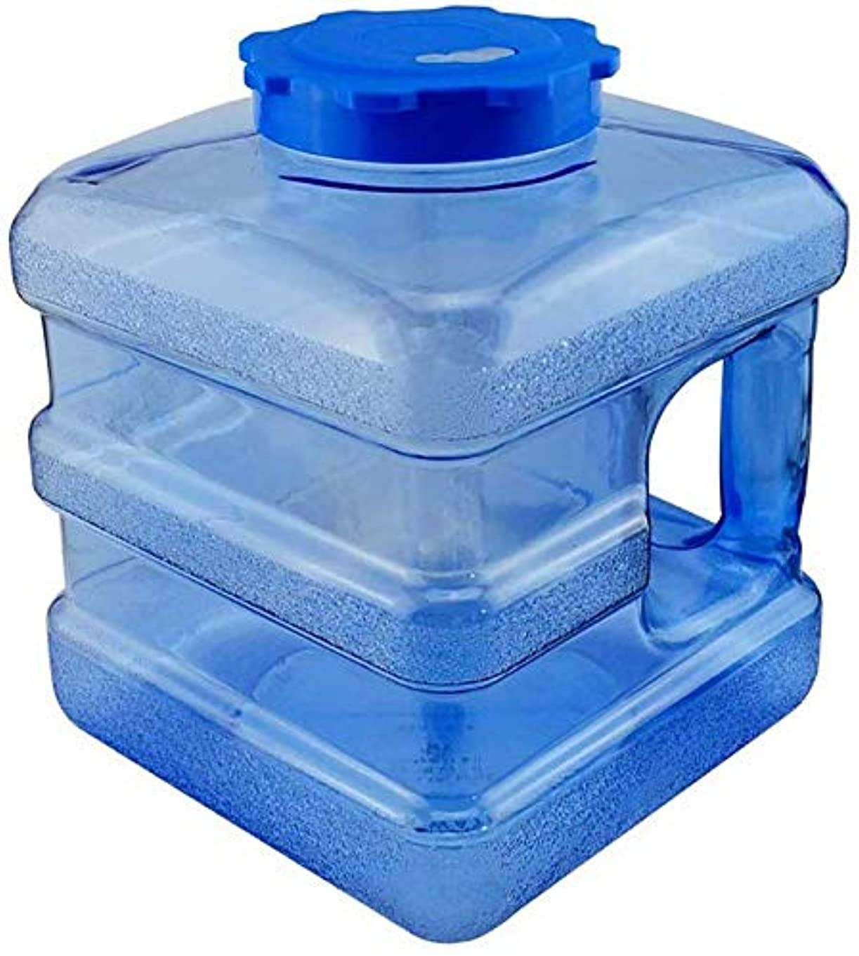 ロック富グリース7.5Lの水ストレージバケツポータブル飲料水バケツ屋外駐車スクエア水タンク、大容量、20x20x26cm水容器