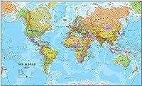 1000個の教育用子供用教育玩具-地図国際世界ウォールマップ