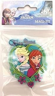 Two items Frozen Elsa & Anna Heart magnet PLUS DL Map guide SET