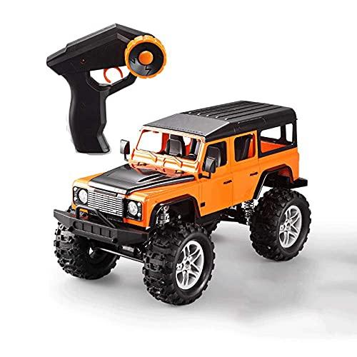 4WD Off-Road Control Remoto Coche 2.4G Todo Terreno Escalada RC Vehículo Suspensión RC Coche Recargable Bigfoot Monster Car Regalos para niños y Adultos