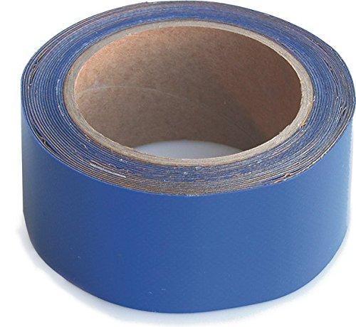 wupsi Cinta de reparación de PVC para todas las lonas y láminas, Azul, 5 Cm X 5 M