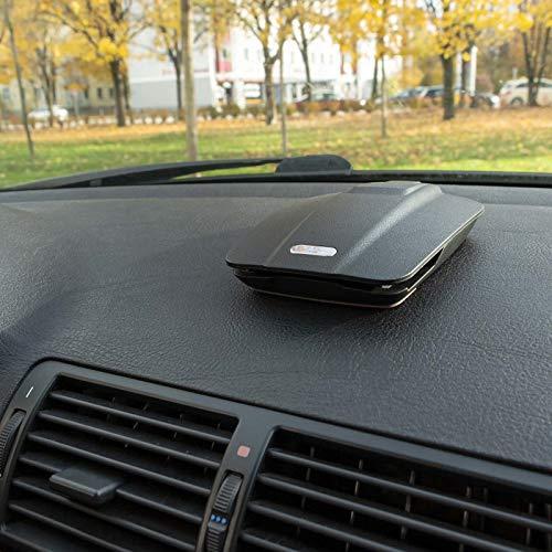 Mobilefox Auto Handy Halterung KFZ Armaturenbrett Klapp Halter PKW für Huawei P30 P20 Pro Lite P10 P9 P8 Mate 10 20 - 4
