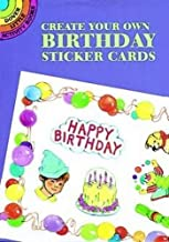 Create Your Own Birthday Sticker Cards (Dover Little Activity Books)