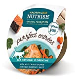 Rachael Ray Nutrish Purrfect Entrees Natural Wet Cat Food, Wild Caught Salmon, 2 Ounce Cup (Pack of 24), Grain Free