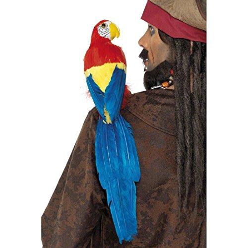 NET TOYS Perroquet de Pirate Perroquet Pirate perroquets Pirates Accessoire de Pirate Costume Costume de Pirate