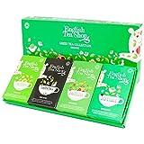 English Tea Shop Colección de té verde orgánico en 4 sabores surtidos - 1 x 60 bolsitas de té (120 gramos)