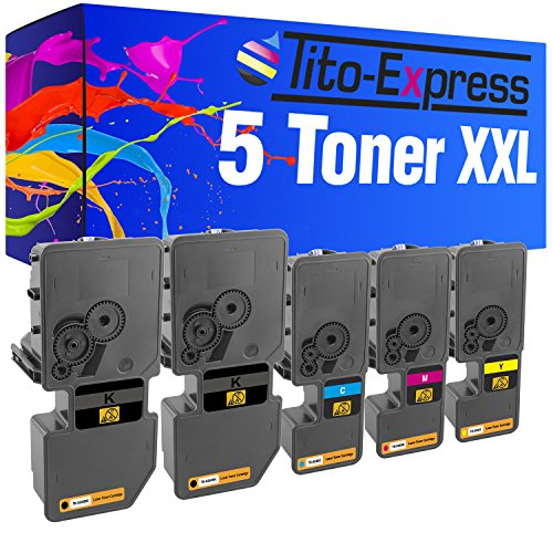 Tito-Express PlatinumSerie 5 Toner XXL für Kyocera TK-5240 ECOSYS M5526CDW P5026CDW P5026CDN M5526CDN M 5526CDW 5526CDN P 5026CDW 5026CDN M5526 P5026 CDW P5026 M5526 CDN