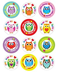 """Owl"" Always Love Jesus! Stickers"