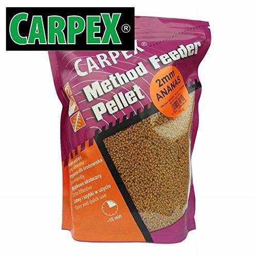 Carpex 0,75kg 2mm Method Feeder Pellets Feederfutter Additive Futterzusatz Fish