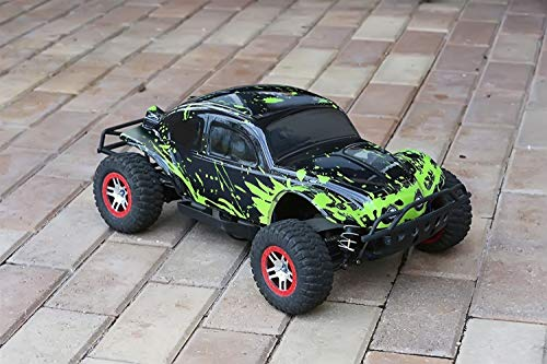 Custom Body Muddy Green Over Black Compatible for 1/10 Slash 4x4 VXL 2WD Slayer RC Car or Truck (Truck not Included) SSB-BG-03