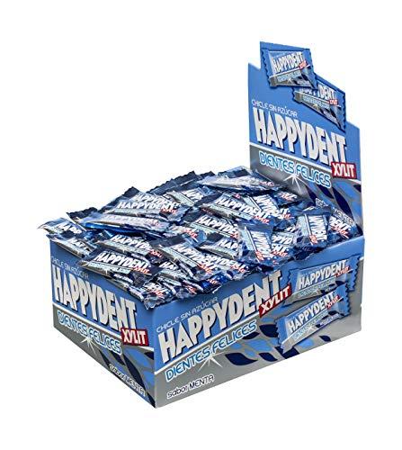 Happydent Menta, Chicle Sin Azúcar - 200 unidades