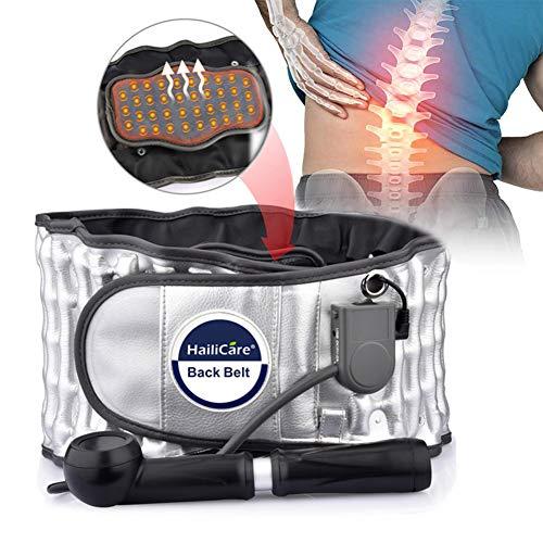 MXXQQ Lower Back Brace Nierengurt Unterstützung, Wärmetherapie Beheizte Taillen-Massage-Wrap, Für Den Unteren Rücken Lumbalen Taille Bauch Bauch Spine Pain Relief