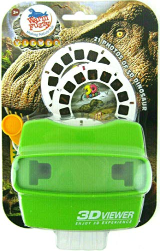 Big Game Toys~3D Dinosaur Viewer with BGT Tote Bag 21 Photo Images T-Rex Dino Skeleton Focusing Option Viewmaster View Master Set
