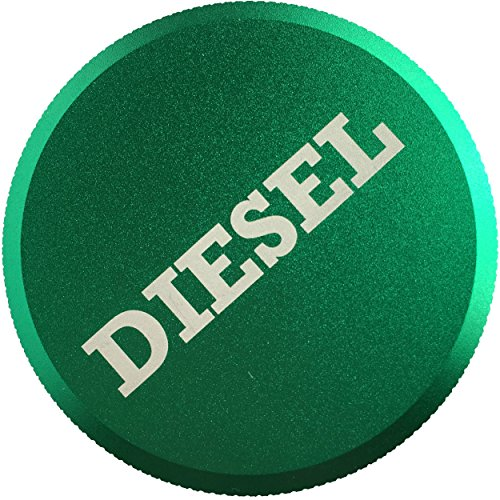 Magnetic Diesel Fuel Cap Accessory for Dodge RAM TRUCK 1500 2500 3500 (2013-2018) with 6.7 CUMMINS EcoDiesel, Lightweight Design, Includes 2 O-Rings
