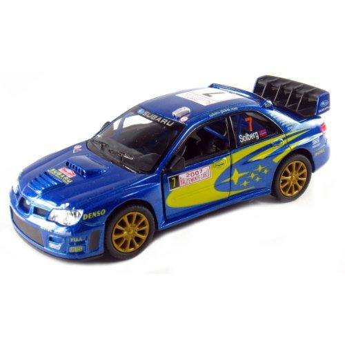 Kinsmart 5' 2007 Subaru Impreza WRC Racing 1:36 Scale (Blue)