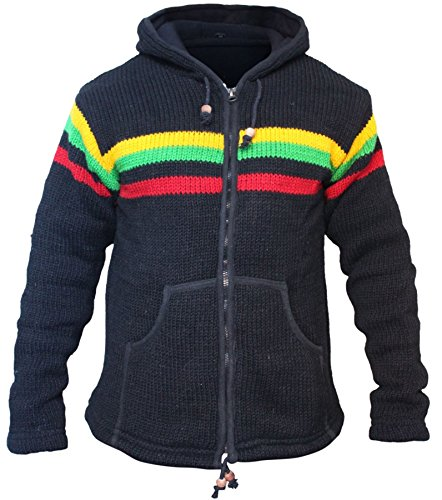 SHOPOHOLIC Fashion - Chaqueta de invierno para hombre