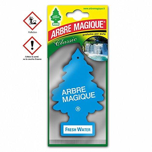 les colis noirs lcn Arbre Magique Fresh Water - Accessoire Désodorisant Voiture - 906