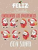 Encuentra las Diferencias: Busca y encuentra diferencias libros niños de Navidad, 7 diferencias...