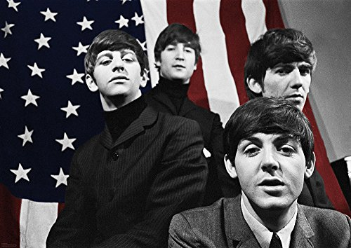 The Beatles poster First US Tour bandpicture