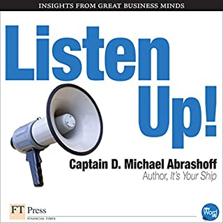 Listen Up! audiobook cover art