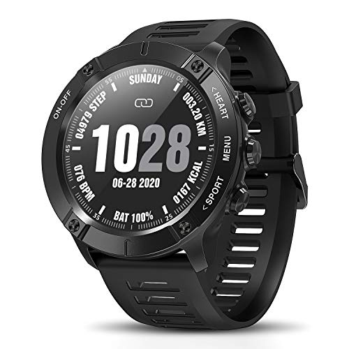 CatShin Fitness Tracker SmartWatch,Bluetooth Sports Watch Wasserdicht Aktivitätstracker,Voller Touchscreen Fitness Armband Blutdruck Uhr mit Schrittzähler Pulsuhren Stoppuhr für Herren iOS Android.