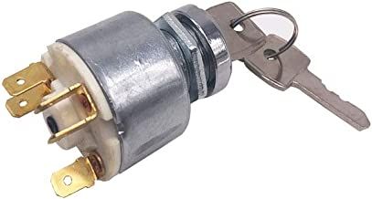 31973K4183 Ignition Switch 3 Position 5 Wire for Lucas Massey Ferguson Suitable for Motorcycles Boats Tractor Trailer Digger