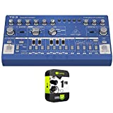 Behringer 000-E2502-00010 TD-3-BU Analog Bass Line Synthesizer with VCO, VCF, 16-Step Sequ...