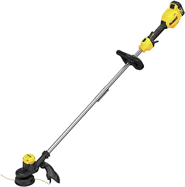 DEWALT 13 Inches 20 Volt Max Lithium Ion Cordless String Trimmer With 4 Ah Battery And Charger Included