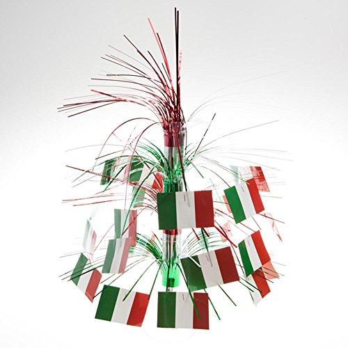Italian Flag Cascade Centerpiece Party Accessory (1 count) (1/Pkg)
