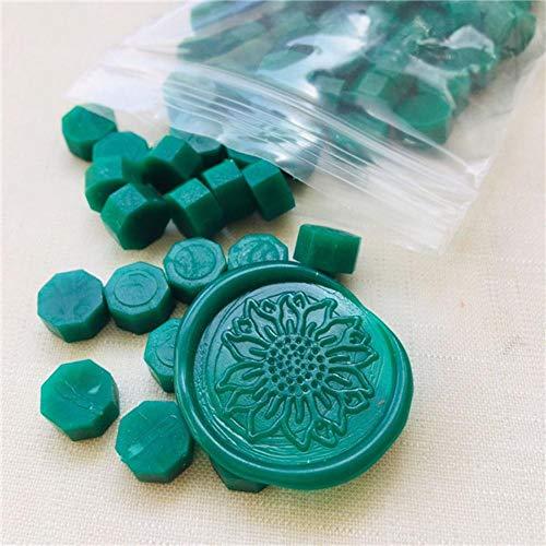 BTKNOO Siegelwachs Siegelstempel verwenden hohe Qualität Bunte Pille Wachsperlen, shenlv
