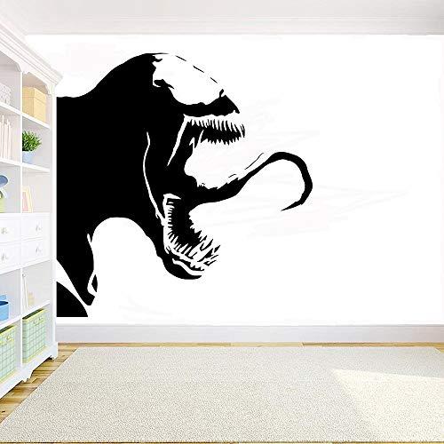 yaonuli Adesivo Decalcomania Comic Wall Art Vinile Art Deco Famiglia Vinile Child Room Decoration Adesivo Impermeabile 43X42cm