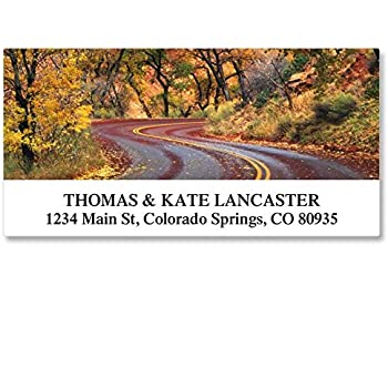 Flat-Sheet Select Address Labels by Colorful Images 12 Designs Count 144 Seasonal Beauty Self-Adhesive