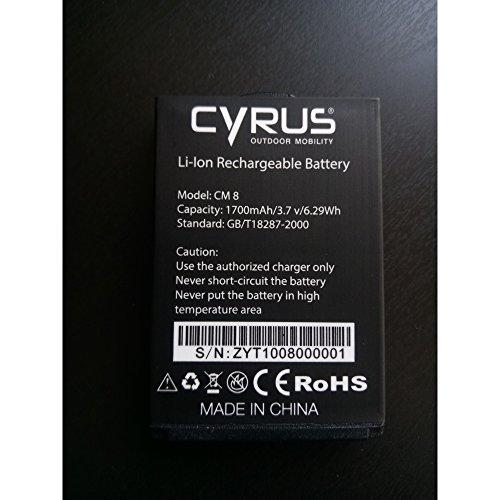 Cyrus AKK_CYR10018 Akku für CM8