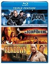 Dwayne Johnson Triple Feature: (The Scorpion King / The Rundown / Doom)