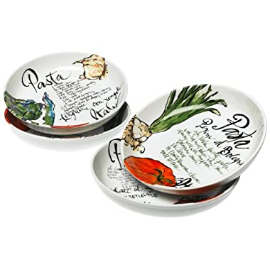 Rosanna Pasta Italiana Pasta Bowls Set of 4