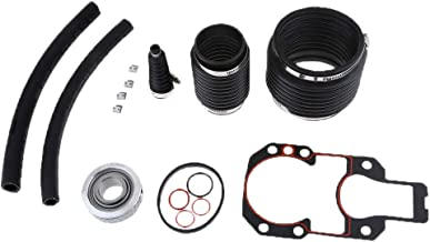 kaaka 12Pcs/Set Transom Seal Gimbal Bearing Assembly Kit for Mercruiser Alpha One Gen 1 Vehicle Maintenance Common Replacement Part Accessories Kit