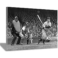 居間や寝室の壁飾りに使われる野球のポスター、20x30cm(8x12inch)から選べる写真がたくさんフレームレス写真9