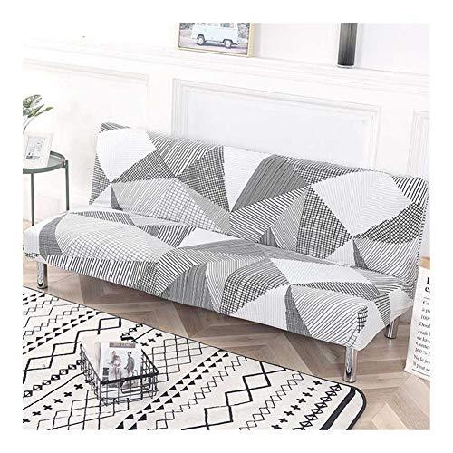 RJJX Spandex Sofa sans canapé-lit Pliant Accoudoirs Couverture élastique Couch Couverture Canapé Slipcovers Chambre Modern Living Décor Sentir à l'aise